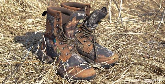 Рыбалка. Снаряжение. Отзыв о треккинговых ботинках ITASCA Comanche.