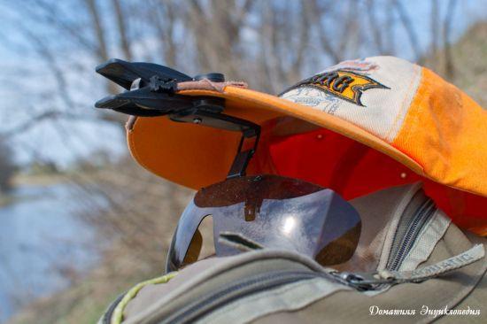 Изображение 1 : Поляризационная накладка Snowbee. Ремонт своими руками.