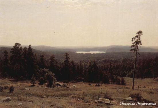Шишкин лес перед грозой